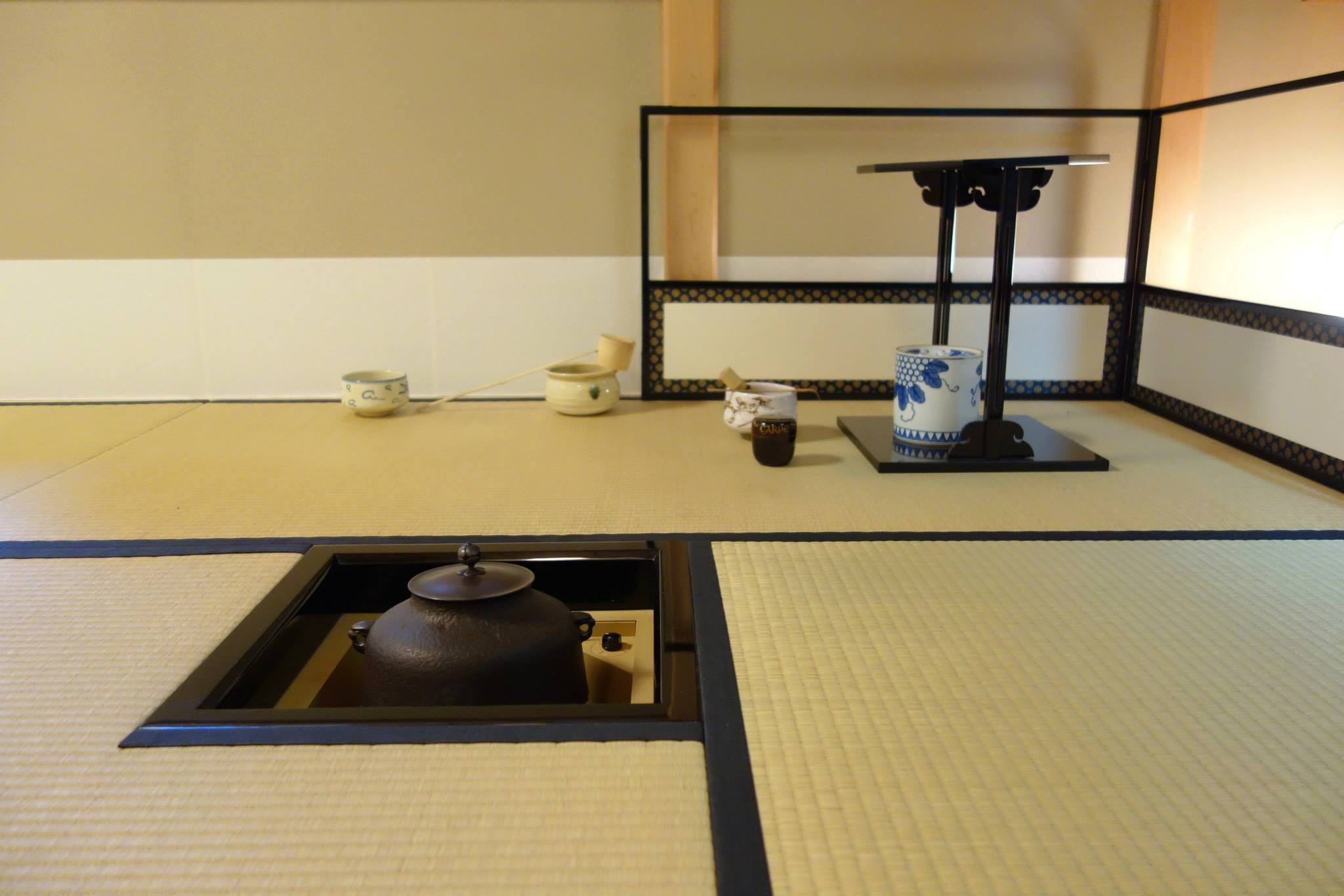 Traditional matcha tea ceremony