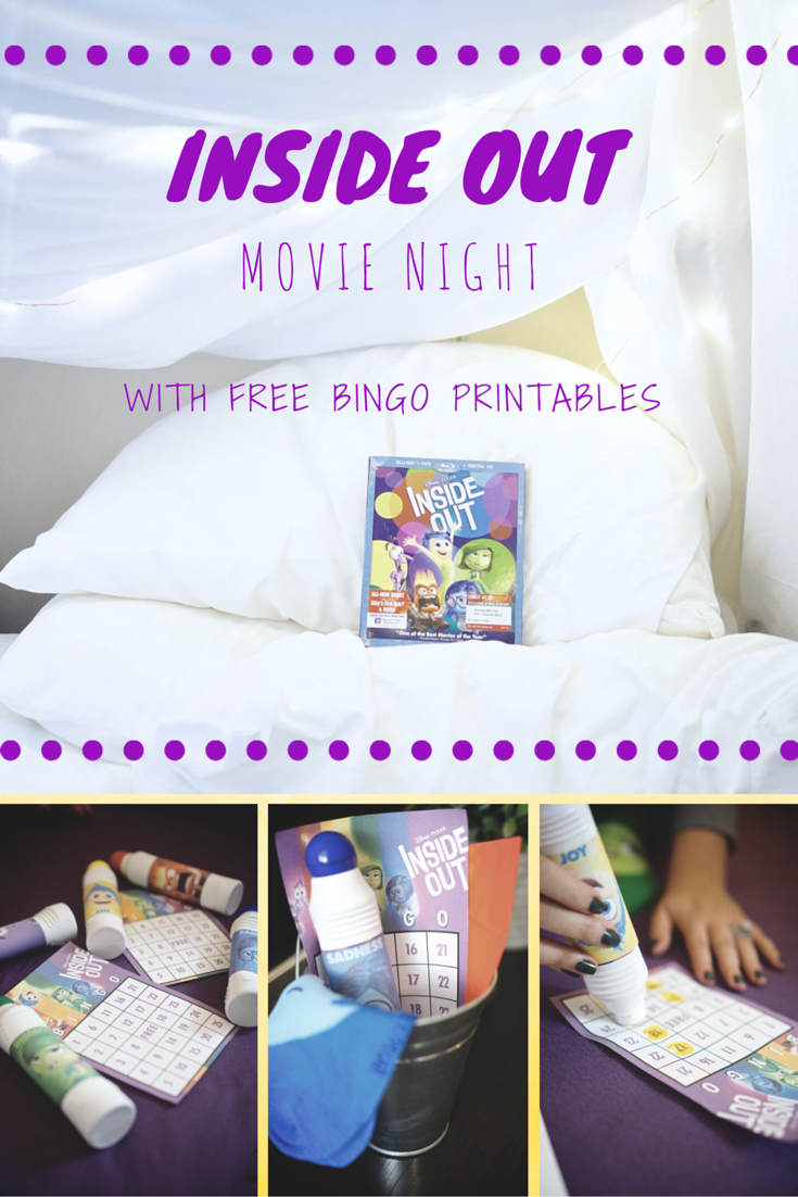 Inside Out Movie Night - The February Fox