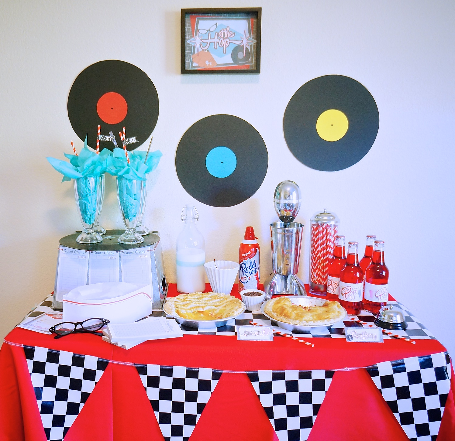 1950s Diner Party - The February Fox