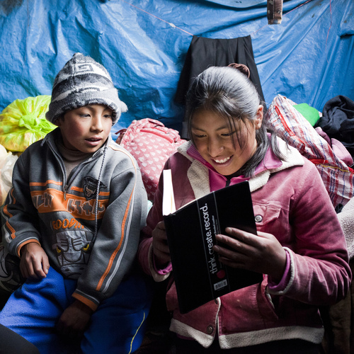 A Set of Library Books for a Refugee Camp
