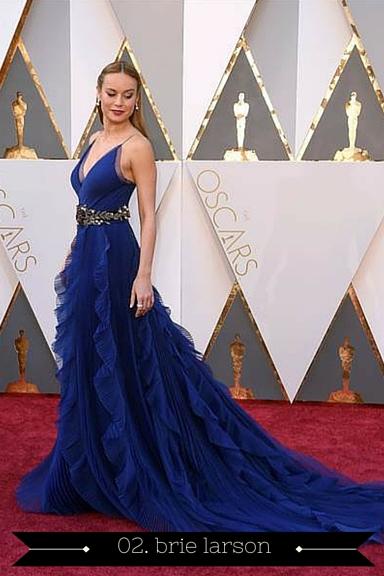 Brie Larson 2016 Oscars - TheFebruaryFox.com