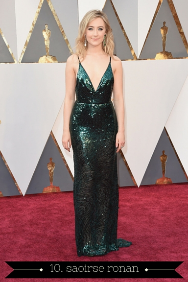 Saoirse Ronan 2016 Oscars - TheFebruaryFox.com