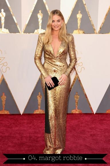 Margot Robbie 2016 Oscars - TheFebruaryFox.com