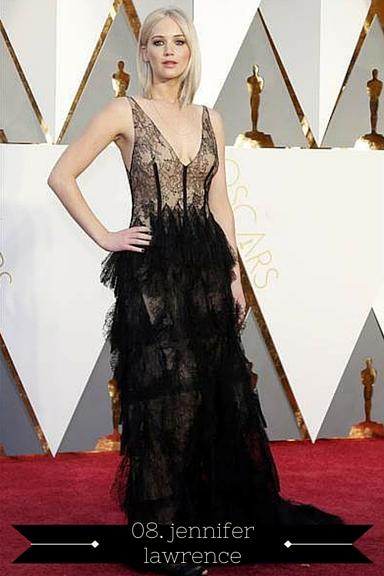 Jennifer Lawrence 2016 Oscars - TheFebruaryFox.com