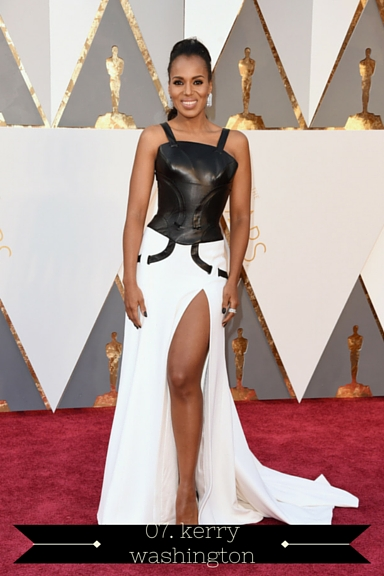 Kerry Washington 2016 Oscars - TheFebruaryFox.com