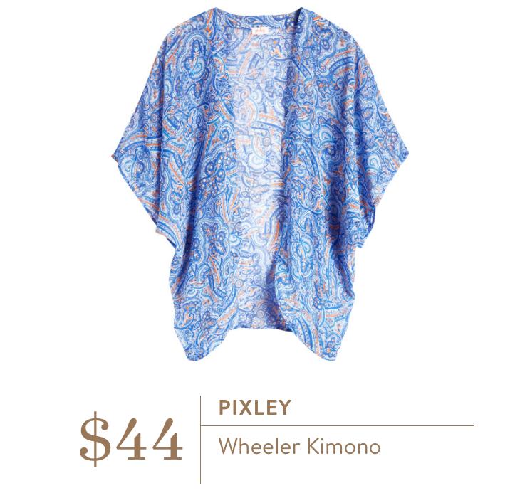 Stitch Fix Pixley Wheeler Kimono - TheFebruaryFox.com